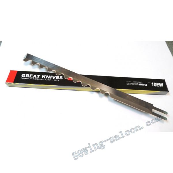 Волнистое лезвие сабельного ножа 10  (10 дюймов)