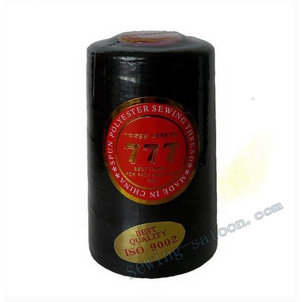 Нитки 777 40/2 цвет черный