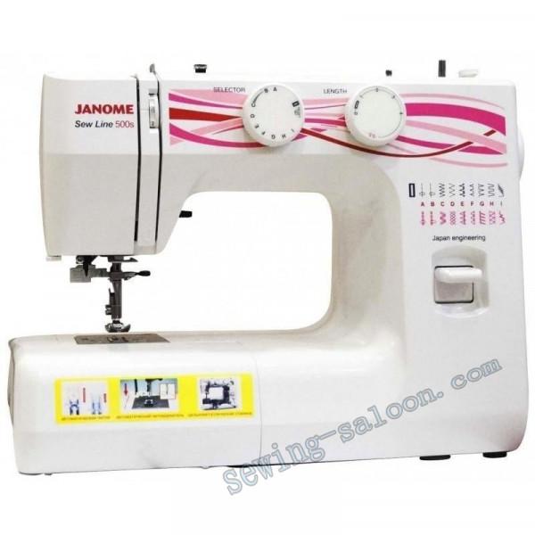 Швейная машина Janome Sew Line 500
