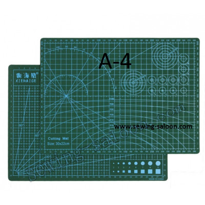 Коврик для раскроя А4, двухсторонний (30*22 см)