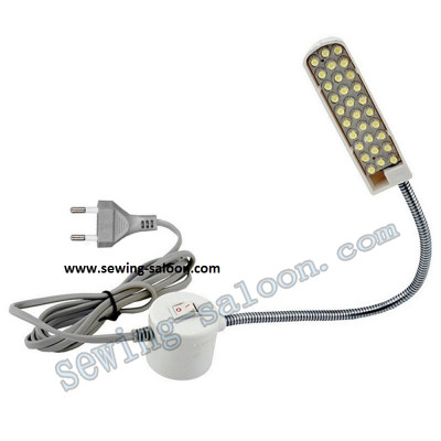 Cветильник LED 30 на гибкой стойке  с вилкой