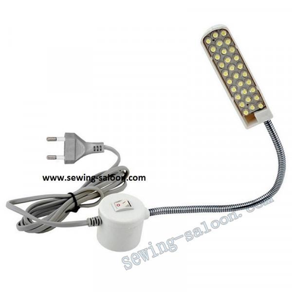 Cветильник LED 20 на гибкой стойке  с вилкой