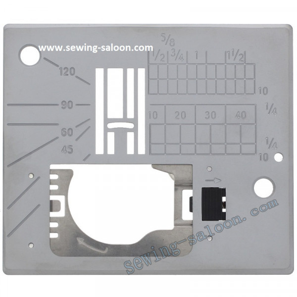 Игольная пластина Janome MC6600P